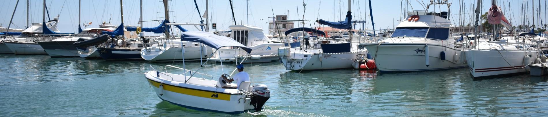 Navigation License in la Ràpita