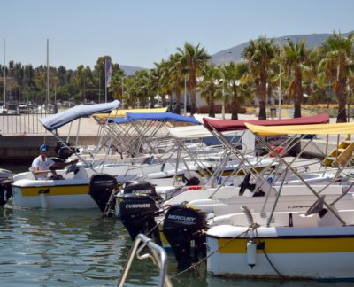 Alquiler barca Delta Ebro